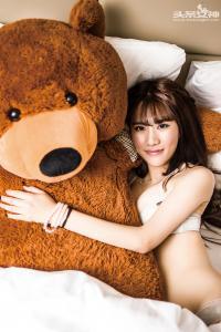 [TouTiao头条女神] 070 绮儿和小熊--T153