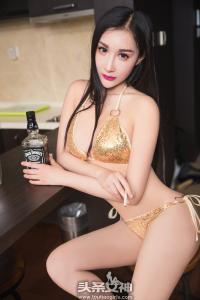 [TouTiao头条女神] 2017.03.10 No.289 曼苏拉娜金色比基尼--T25105 - idols