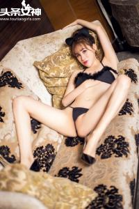 [TouTiao头条女神] 2016.10.24 No.165 沈晓爱萌猫女仆写真--T18977 - idols