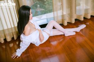 [TouTiao头条女神] 2016.10.04 No.149 灵儿空灵白衬衫原图--T5218 - idols