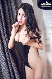 [TouTiao头条女神] 2017.01.11 No.243 可儿黑色高叉VIP专享免费图集--T7529