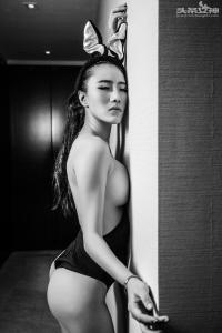 [TouTiao头条女神] 071 暗黑系巨乳小黑兔 绮儿--T25254