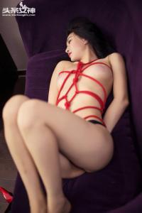 [TouTiao头条女神] 067 红绳捆绑--T32643