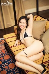 [TouTiao头条女神] 057 vip 周思超-黑色比基尼--T3635