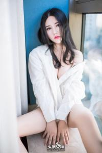 [TouTiao头条女神] 2017.03.19 No.297 可儿热情白衬衣--T31258 - idols