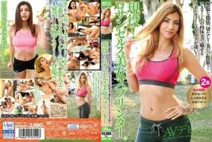 HUSR-154 Nothing Useless Fat!Beautiful Abdominal Muscle!Sportsy Sex With Flesh Body Attraction Of Athlete Is Amazing! Active Duty!Los Angeles Beauty Sprinter.