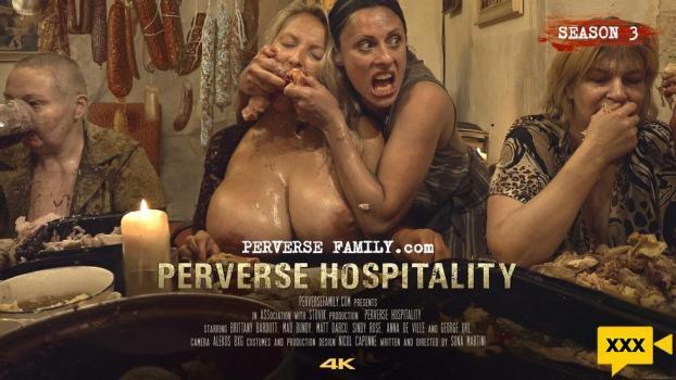 Perverse Family - Brittany Bardott, Sindy Rose & Anna De Ville