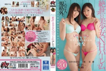 DASD-377 2 Large Co-star Of The Dream.Peerless Pretty NH Harlem Shiroboshi Rin × Akari Yukino