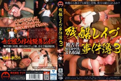 KRI-030 Brutal Rape Case Files 3