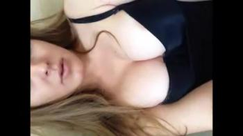 Using vibrator on my tight pussy in the car