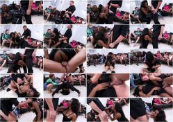 Pervyones/SinDrive - Kiki Minaj - CooCoo For Kiki A Fuck And Rub In Front Of All The Sluts (FullHD/1080p/960 MB)