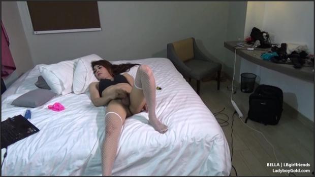 LadyboyGold.com- Bella - Shy Stroker