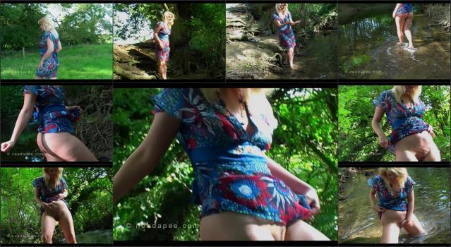 NeedAPee.com 178_-_Lexi_Blake_-_Peeing_At_The_Stream